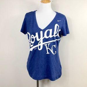 Nike MLB Kansas City Royals VNeck TShirt